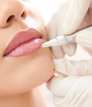 Glaçage des lèvres